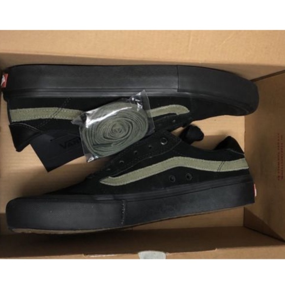 8a589c55f89600 Vans Style 112 Pro Dakota Roche Black Burn Olive
